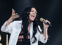 JESSIE J at the WIRELESS MUSIC FESTIVAL - 05/07/2015