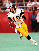 Todd Dillon HamiltonTiger Cats quarterback 1991. Copyright photograph Scott Grant
