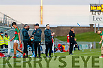 Mid Kerry Manager Peter O'Sullivan during the Kerry County Senior Football Championship Final match between East Kerry and Mid Kerry at Austin Stack Park in Tralee on Saturday night.