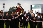 Buena Vista wins the  Emperor's Cup Fall