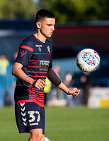 Bolton Wanderers' Finlay Hurford-Lockett warming up before the match <br /> <br /> Photographer Andrew Kearns/CameraSport<br /> <br /> The Carabao Cup First Round - Rochdale v Bolton Wanderers - Tuesday 13th August 2019 - Spotland Stadium - Rochdale<br />  <br /> World Copyright © 2019 CameraSport. All rights reserved. 43 Linden Ave. Countesthorpe. Leicester. England. LE8 5PG - Tel: +44 (0) 116 277 4147 - admin@camerasport.com - www.camerasport.com