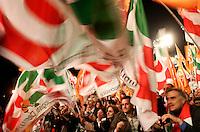 Manifestazione nazionale del Partito Democratico in Piazza San Giovanni, Roma, 5 novembre 2011..Italian center-left Democratic Party demonstration in Rome, 5 november 2011..UPDATE IMAGES PRESS/Riccardo De Luca