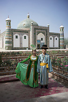"""Kashi, Xinjiang Province, May 2014 - Abakh Hoja Tomb, or  """"The Tomb of Fragrant Concubine"""""""
