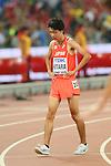 Yuta Shitara (JPN), <br /> AUGUST 22, 2015 - Athletics : <br /> 15th IAAF World Championships in Athletics Beijing 2015 <br /> Men's 10000m Final <br /> at Beijing National Stadium in Beijing, China. <br /> (Photo by YUTAKA/AFLO SPORT)