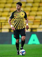 Adam Masina of Watford during the Sky Bet Championship behind closed doors match played without supporters with the town in tier 4 of the government covid-19 restrictions, between Watford and Norwich City at Vicarage Road, Watford, England on 26 December 2020. Photo by Andy Rowland.