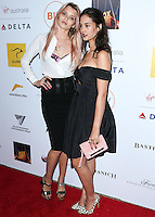 SANTA MONICA, CA, USA - OCTOBER 26: Abbey Lee Kershaw, Courtney Easton arrive at the 3rd Annual Australians in Film Awards Benefit Gala held at the Starlight Ballroom at Fairmont Miramar Hotel & Bungalows on October 26, 2014 in Santa Monica, California, United States. (Photo by Xavier Collin/Celebrity Monitor)