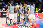 Real Madrid during the 4th match of the Turkish Airlines Euroleague at Barclaycard Center in Madrid, Spain, November 05, 2015. <br /> (ALTERPHOTOS/BorjaB.Hojas)