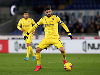 Football, Serie A: S.S. Lazio - Hellas Verona, Olympic stadium, Rome, February 5, 2020. <br /> Hellas Verona's captain Miguel Veloso in action during the Italian Serie A football match between S.S. Lazio and Hellas Verona at Rome's Olympic stadium, Rome, on February 5, 2020. <br /> UPDATE IMAGES PRESS/Isabella Bonotto