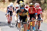 11th July 2021, Ceret, Pyrénées-Orientales, France; Tour de France cycling tour, stage 15, Ceret to  Andorre-La-Vieille;   KRUIJSWIJK Steven (NED) of JUMBO-VISMA during stage 15 of the 108th edition of the 2021 Tour de France cycling race, a stage of 191,3 kms between Ceret and Andorre-La-Vieille