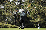 JEJU, SOUTH KOREA - APRIL 24:  Mark Foster of Englang tees off on the 11th hole during the Round Two of the Ballantine's Championship at Pinx Golf Club on April 24, 2010 in Jeju island, South Korea. Photo by Victor Fraile / The Power of Sport Images