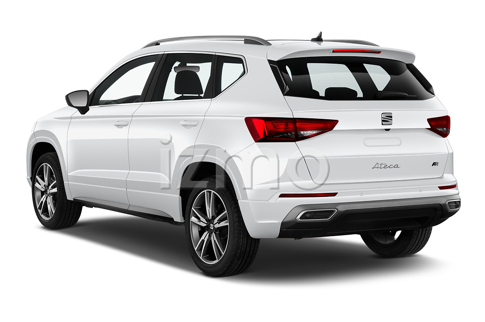 Car pictures of rear three quarter view of 2020 Seat Ateca FR 5 Door SUV Angular Rear