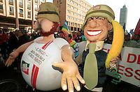 manifestazione per la pace, Milano 15 marzo 2003
