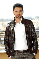 "SIMONE CORRENTE.Photocall for ""Milano-Palermo: il ritorno"", Rome, Italy..November 15th, 2007.half length brown leather jacket hands in pockets goatee facial hair .CAP/CAV.©Luca Cavallari/Capital Pictures."