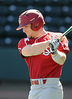 South Carolina outfielder Robert Beary (4) prior to a game between the Clemson Tigers and South Carolina Gamecocks Saturday, March 6, 2010, at Fluor Field at the West End in Greenville, S.C. Photo by: Tom Priddy/Four Seam Images