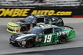 #19: Brandon Jones, Joe Gibbs Racing, Toyota Camry Juniper, #35: Joey Gase, SS Green Light Racing, Chevrolet Camaro Sparks