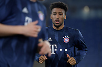 Kingsley Coman of FC Bayern Munchen warms up during the Champions League round of 16 football match between SS Lazio and Bayern Munchen at stadio Olimpico in Rome (Italy), February, 23th, 2021. Photo Andrea Staccioli / Insidefoto