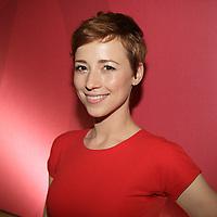 May , 2013 File Photo -  Karine Vanasse<br /> <br /> attend V Television programmation launch