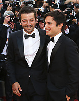 DIEGO LUNA AND GAEL GARCIA BERNAL - RED CARPET OF THE 70TH ANNIVERSARY CEREMONY AT THE 70TH FESTIVAL OF CANNES 2017