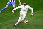 Real Madrid's Cristiano Ronaldo during La Liga match. November 19,2016. (ALTERPHOTOS/Acero)