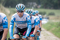 Mads Würtz Schmidt (DEN/Israel - StartUp Nation)<br /> <br /> reconnaissance of the (delayed, due to the Covid19 pandemic) Paris-Roubaix course by Team Israel - StartUp Nation <br /> <br /> Nord-Pas de Calais region (FRA), 17 july 2020<br /> ©kramon