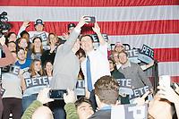 Pete Buttigieg - Rally at Exeter High School - Exeter NH - 10 Feb 2020