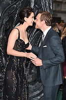 """Michael Fassbender and Katherine Waterston<br /> at the """"Alien:Covenant"""" world premiere held at the Odeon Leicester Square, London. <br /> <br /> <br /> ©Ash Knotek  D3260  04/05/2017"""
