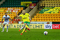 29th December 2020; Carrow Road, Norwich, Norfolk, England, English Football League Championship Football, Norwich versus Queens Park Rangers; Teemu Pukki of Norwich City scores from the penalty spot for 1-0 in the 75th minute