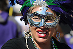 Scenes from Mardi Gras in New Orleans, 2009.