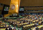 High-level meeting of the General Assembly on the appraisal of the United Nations Global Plan of Action to Combat Trafficking in Persons<br /> Opening plenary meeting<br /> Remarks by the Secretary-General