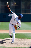 James McDonald  - Los Angeles Dodgers - 2009 spring training.Photo by:  Bill Mitchell/Four Seam Images