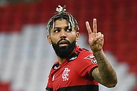 Rio de Janeiro (RJ), 15/04/2021 - Flamengo-Vasco - Gabriel Gabigol  jogador do Flamengo,durante partida contra o Vasco,válida pela 9ª rodada da Taça Guanabara,realizada no Estádio Jornalista Mário Filho (Maracanã), na zona norte do Rio de Janeiro, nesta quinta-feira (15).