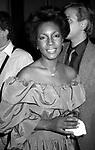 Mary Wilson on January 15, 1983 in New York City.
