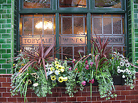 British Pub Window, London