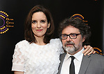 Tina Fey and Jeff Richmond attends the 2018 Outer Critics Circle Theatre Awards at Sardi's on May 24, 2018 in New York City.