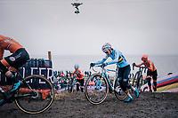 Sanne Cant (BEL) wins her 3rd consecutive World Title<br /> <br /> Women's Elite race<br /> <br /> UCI 2019 Cyclocross World Championships<br /> Bogense / Denmark<br /> <br /> ©kramon