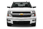 Straight front view of a 2014 Chevrolet Silverado 1500 LT 2WD Crew Cab
