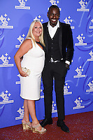 Vanessa Feltz<br /> celebrating the winners in this year's National Lottery Awards, the search for the UK's favourite Lottery-funded projects.  The glittering National Lottery Stars show, hosted by John Barrowman, is on BBC One at 10.45pm on Monday 12 September.<br /> <br /> <br /> ©Ash Knotek  D3151  09/09/2016