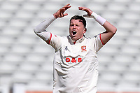 Peter Siddle of Essex shows his frustration during Warwickshire CCC vs Essex CCC, LV Insurance County Championship Group 1 Cricket at Edgbaston Stadium on 23rd April 2021