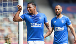 02.05.2021 Rangers v Celtic: Alfredo Morelos celebrates