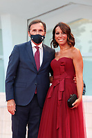 VENICE, ITALY - SEPTEMBER 04: Nunzia De Girolamo and Francesco Boccia walk the red carpet ahead of the movie Padrenostro at the 77th Venice Film Festival at on September 04, 2020 in Venice, Italy. PUBLICATIONxNOTxINxUSA Copyright: xAnnalisaxFlori/MediaPunchx <br /> ITALY ONLY