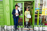 Lizzy's Little Kitchen: Joan McCarthy, Listowel about to receive her take away lunches from Lizzy Lyons at Lizzy's Little Kitchen, Listowel who are operating a take away service during this pandemic crisis.