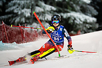 29th December 2020; Semmering, Austria; FIS Womens Giant Slalom World Cup Skiing; Ekaterina Tkachenko of Russian Federation during her 1st run of women Slalom competition of FIS ski alpine world cup at the Panoramapiste in Semmering