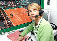 2-6-06, France, Paris, Tennis , Roland Garros, Marcella Mesker