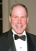 Michael Eisner, CEO, Walt Disney Company, arrives at The White House in Washington, D.C. for the State Dinner honoring Chinese President Jiang Zemin on October 29, 1997.<br /> Credit: Ron Sachs / CNP