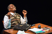 Bashir Lazhar presented by Upstream Theatre at Kranzberg Arts Center in St. Louis, MO on Jan 29, 2015.