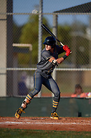 Roman Anthony (26) during the WWBA World Championship at Lee County Player Development Complex on October 9, 2020 in Fort Myers, Florida.  Roman Anthony, a resident of North Palm Beach, Florida who attends Marjory Stoneman Douglas High School, is committed to Mississippi.  (Mike Janes/Four Seam Images)