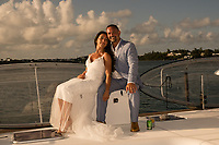 Norman and Miki on True Bermuda Charter