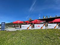 Sportalm am Trainingsplatz - Seefeld 28.05.2021: Trainingslager der Deutschen Nationalmannschaft zur EM-Vorbereitung