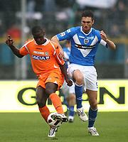 17-10-2010 Brescia italia sport calcio<br /> Brescia-Udinese Calcio Serie A<br /> nella foto andrea caracciolo - zapata<br /> foto Prater/Insidefoto