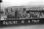 Raymond Gilmore supergrass graffiti. Londonderry 1983. The Creggan Estate 1983